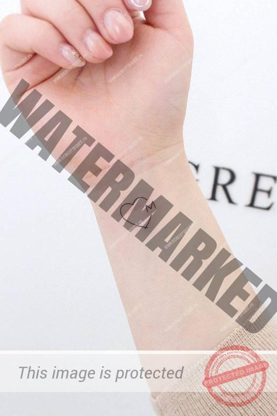 Tatuaje Cu Initiale Beauty Revealedro