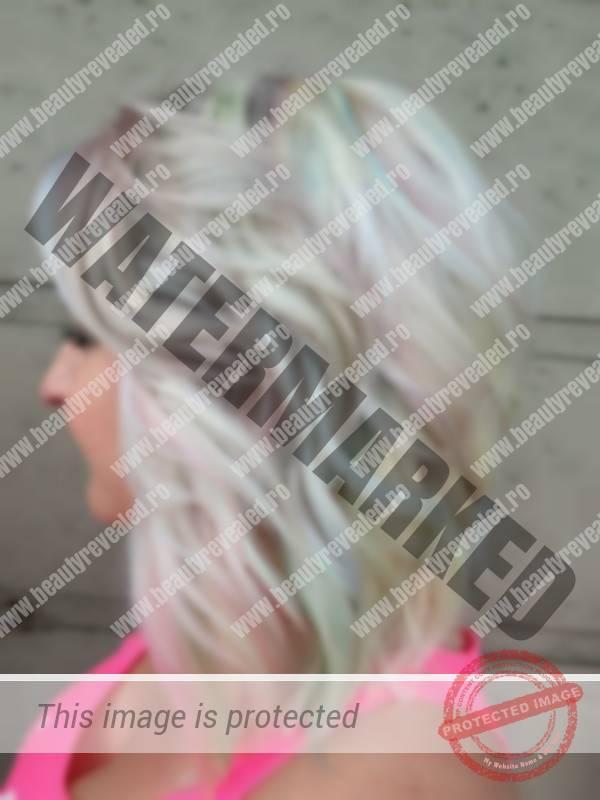Parul Blond Cu Suvite Tridimensionale O Noua Tendinta In