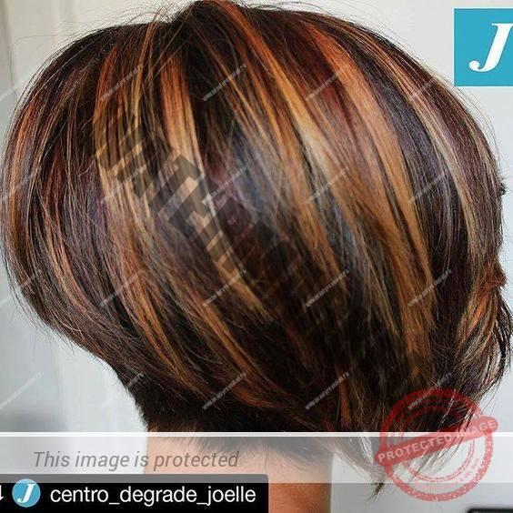 Tunsori bob cu suvite blonde, roscate 2020-07