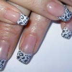 Leoparden Naildesign