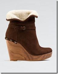 pantofi platforma Bershka crem