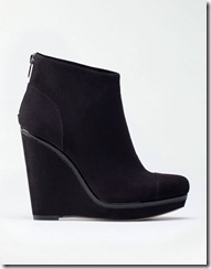 pantofi platforma Bershka negri