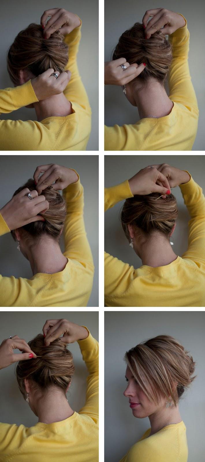 Frisuren Mitelang Coafuri Simple Si Rapide Pas Cu Pas
