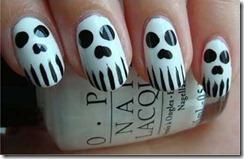 Halloween manicure 1