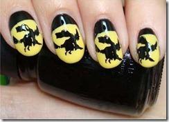 Halloween manicure 3