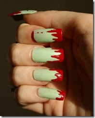 Halloween manicure 6