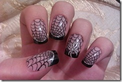 Halloween manicure 7