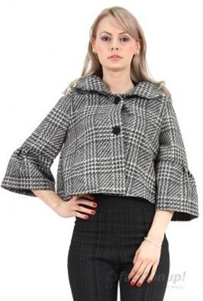 Jacheta Almo alb cu negru