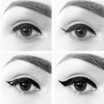 Cum sa iti conturezi ochii cu tusul de ochi. Tutoriale, poze si sfaturi
