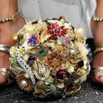 Cele mai frumoase Buchete de Mireasa din bijuterii de pe Pinterest