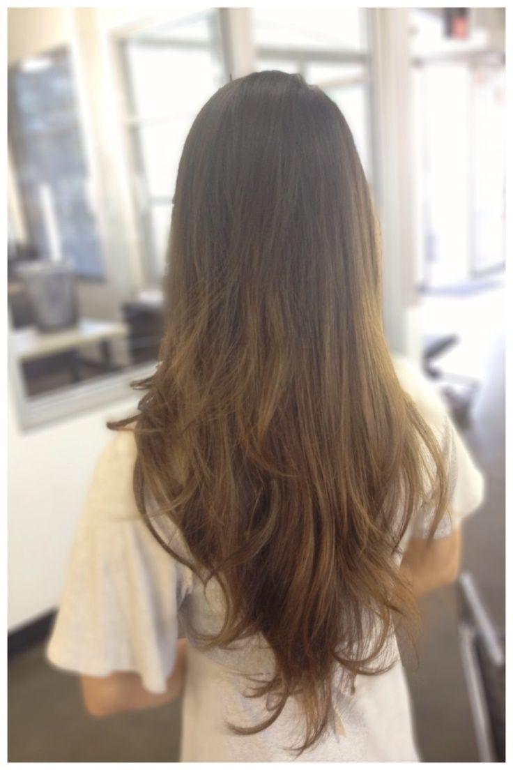 v shaped haircut front view - photo #2