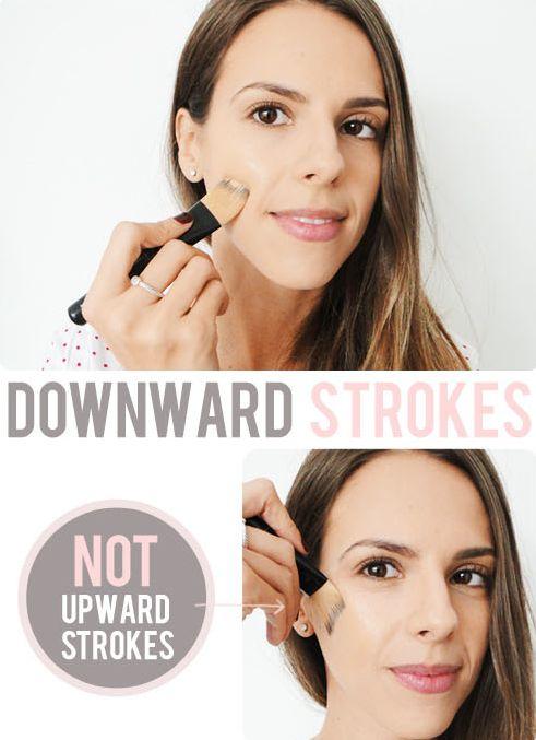 downward-strokes