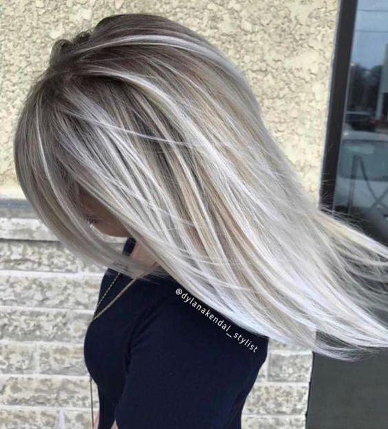 Blond Platinat Nuante De Blond La Moda In 2018 Beauty